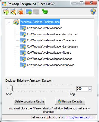 Desktop Background Tuner For Windows 7 And Windows 8
