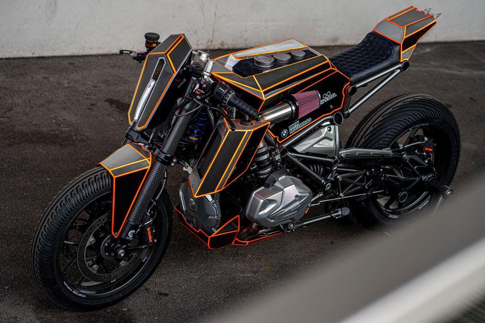 Modified Bmw R1250 Gs Named Dominator In 2020 Custom Bmw Bmw