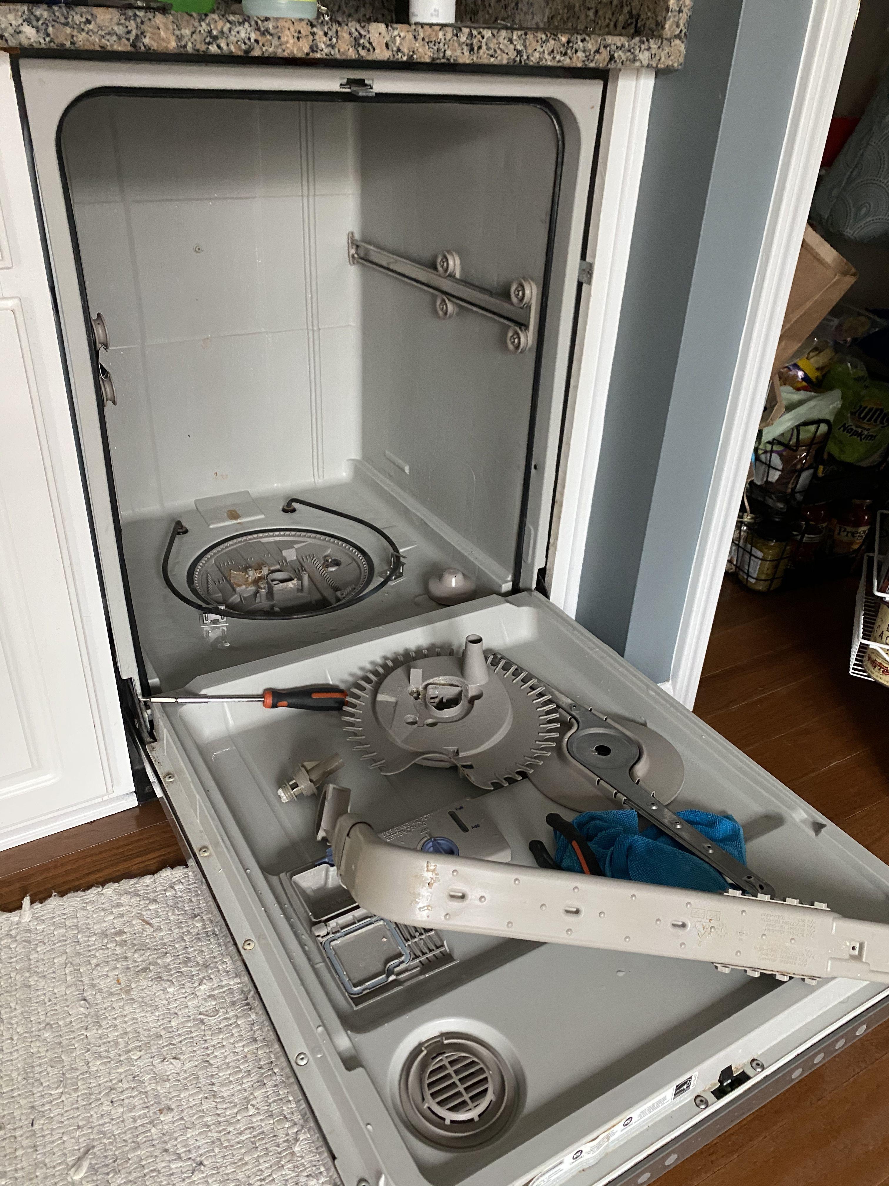 Change dishwasher filter in 2020 change dishwasher