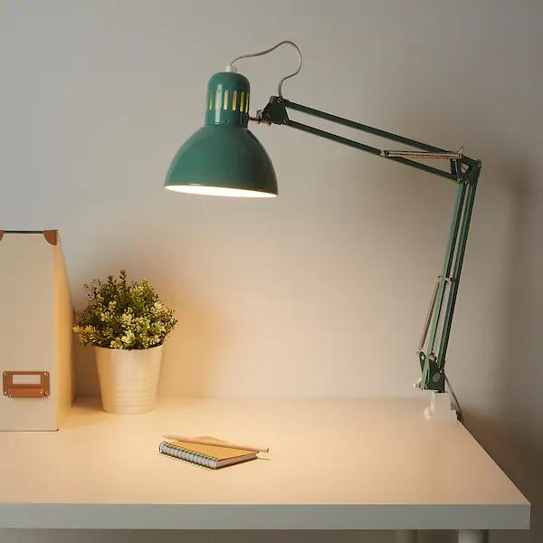 Tertial Skrivebordslampe Lysegron Ikea In 2020 Lamp Work Lamp Desk Lamp