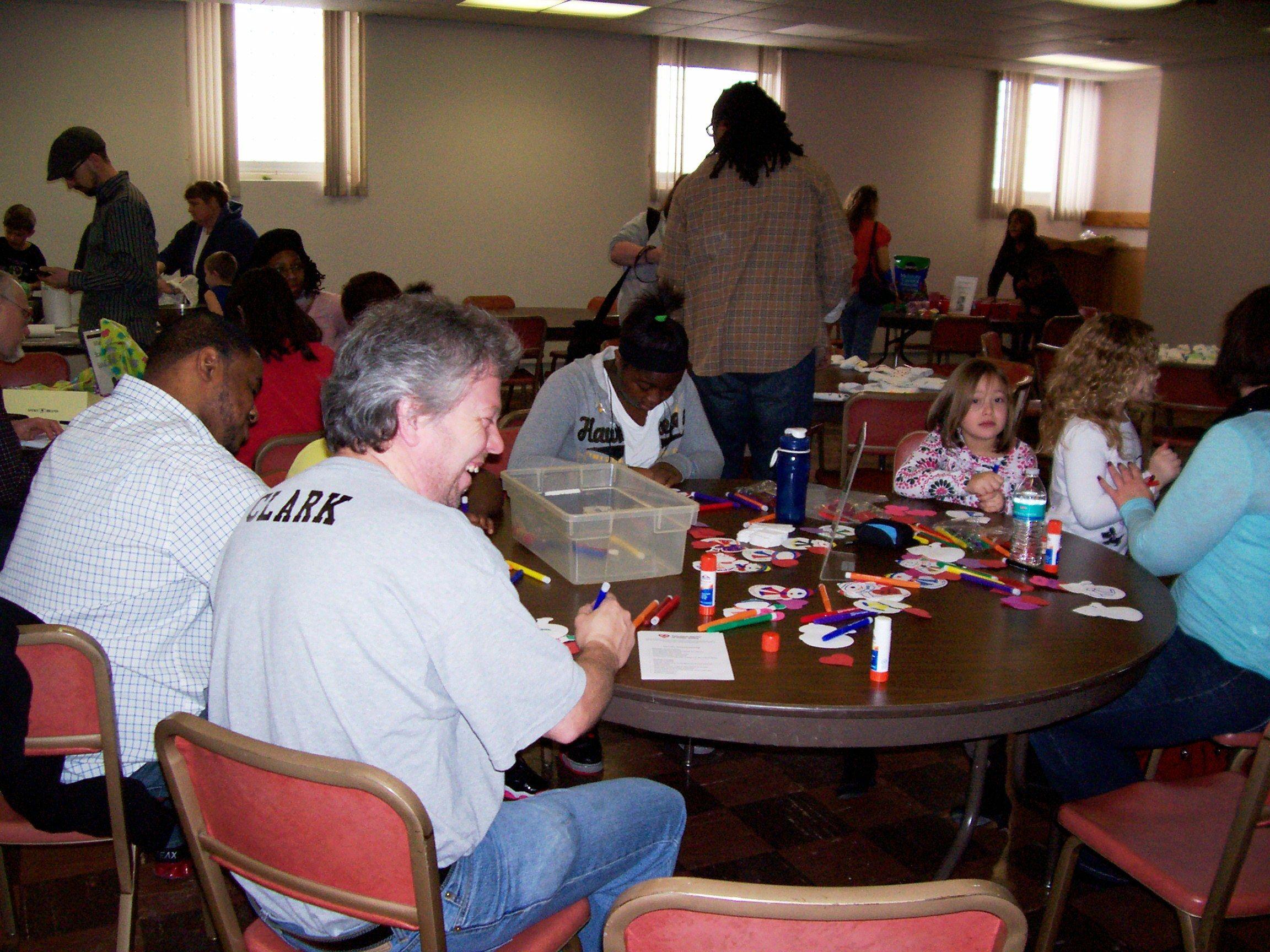 The Volunteer Center of Cedar Valley sponsored a morning