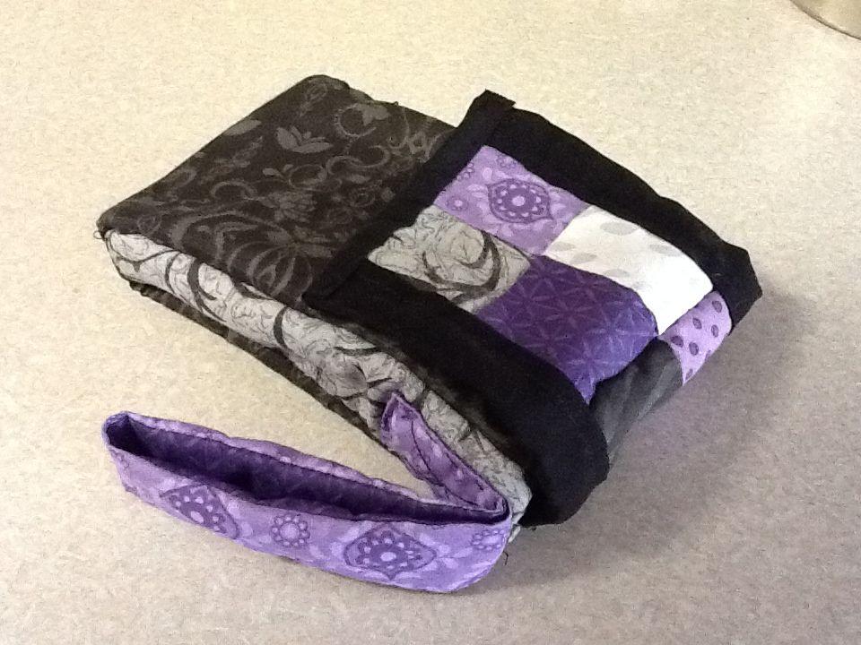Patchwork iPhone wrist bag