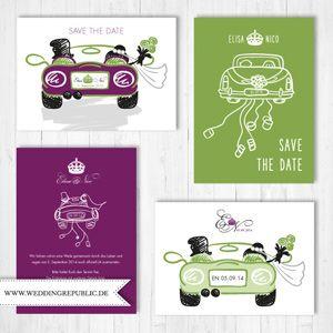 hochzeit einladung | wedding invitation | save the date | just, Einladungen