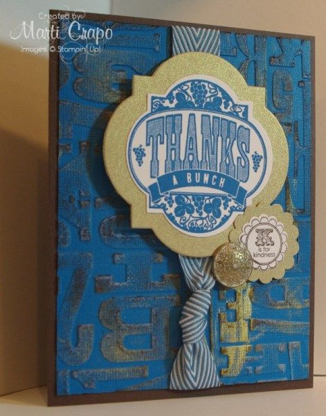Core'dination Cardstock and Friendship Preserves