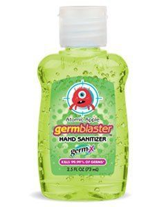 Germ X 1 5 Oz Germ Blaster Hand Sanitizer Atomic Apple By Germ X