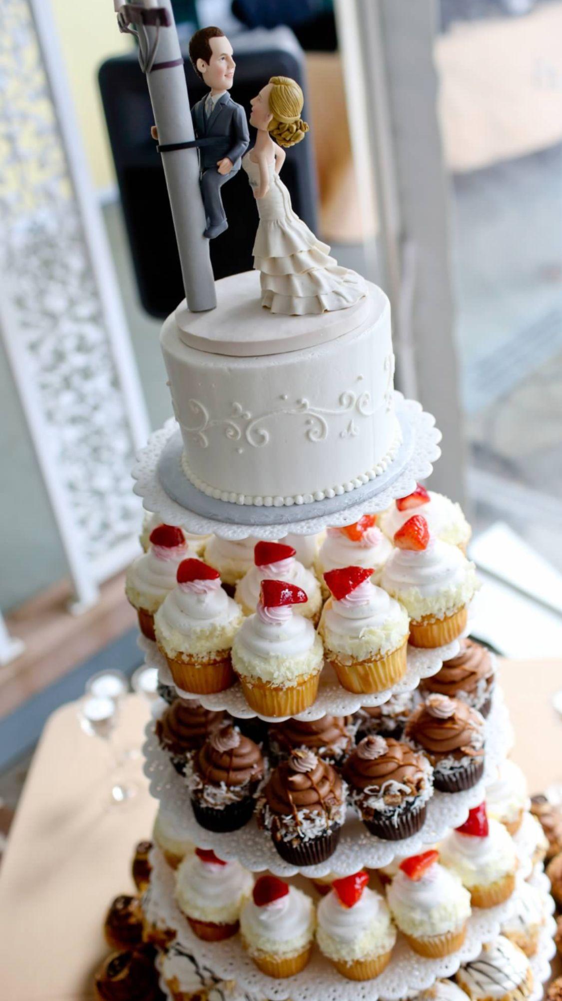 Lineman Cake Topper Wedding Pinterest