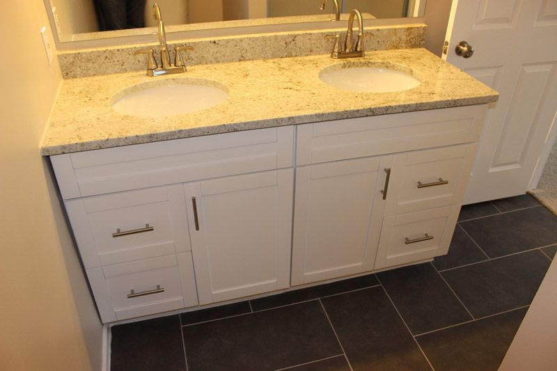 Traditional White Shaker Bathroom Vanities Rta Kitchen Cabinets Vanity