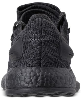 5803e01f9d655 adidas Men s PureBOOST Cb Running Sneakers from Finish Line - Black 11.5