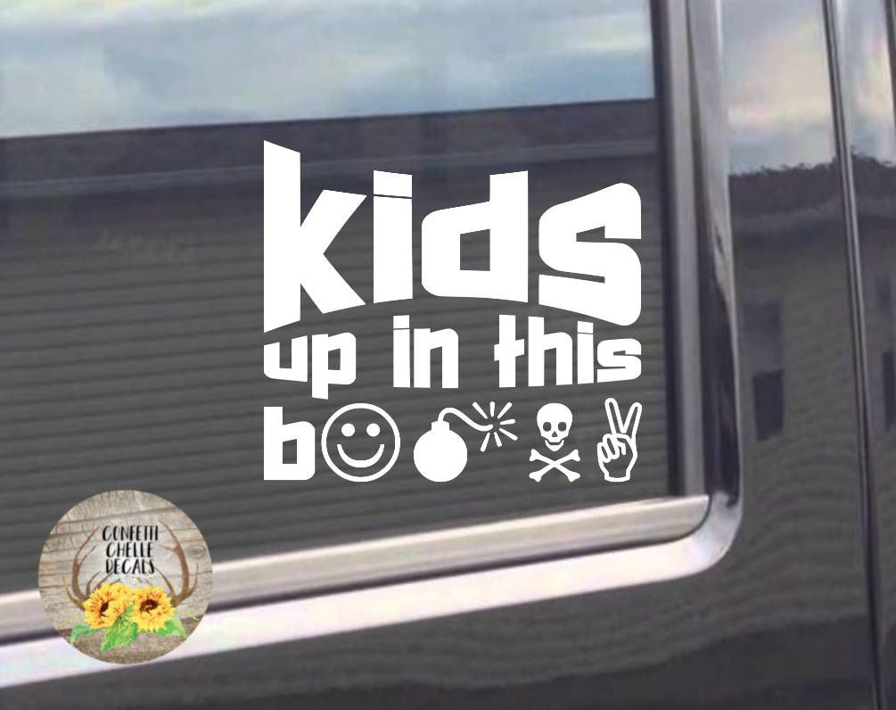 This Item Is Unavailable Etsy Kids Stickers Funny Decals Car Decals [ 796 x 1005 Pixel ]