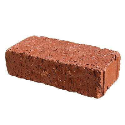 Mission Tumbled 8 In X 4 In X 2 25 In Clay Red Paver 030734004 Clay Pavers Paver Clay