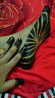 منتديات سيدات السودان Henna Designs Henna Patterns Foot Henna