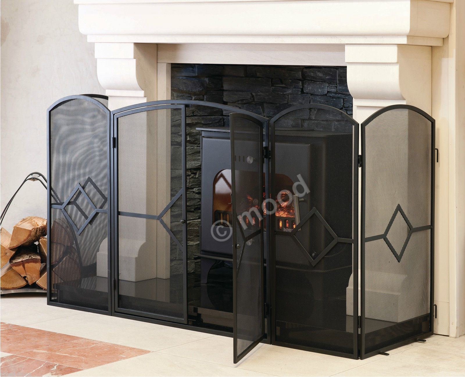 furniture screen at on fresh amazing top fireplace new interior home guard design gallery spark simple architecture