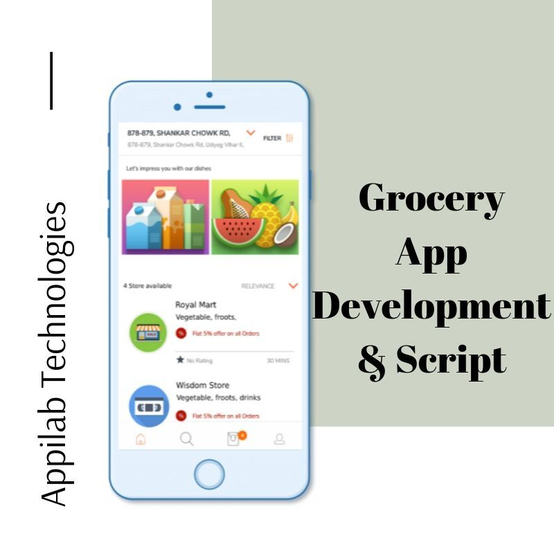 Steps To Develop A Grocery Delivery App Appilab Grocery Delivery App Delivery Groceries App Development