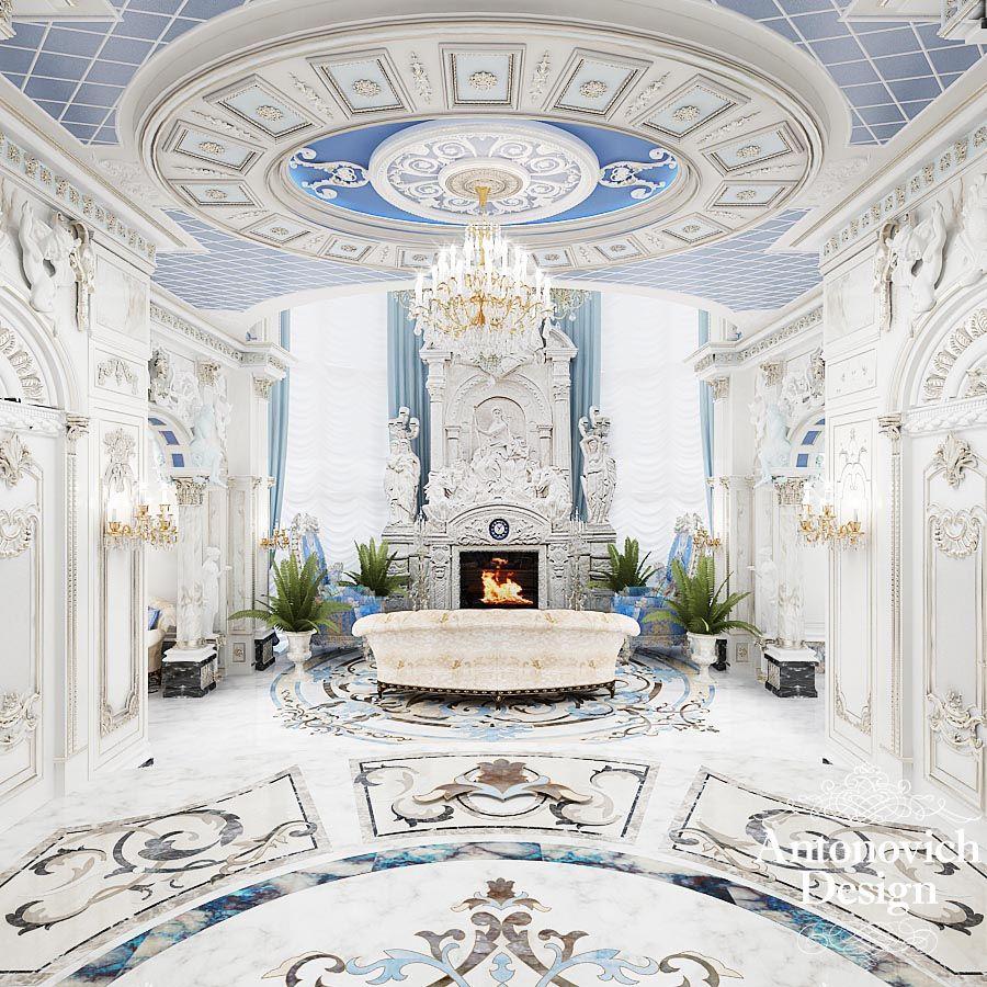дизайнерские идеи интерьера: Каминная гостиная в особняке Миллениум-парк