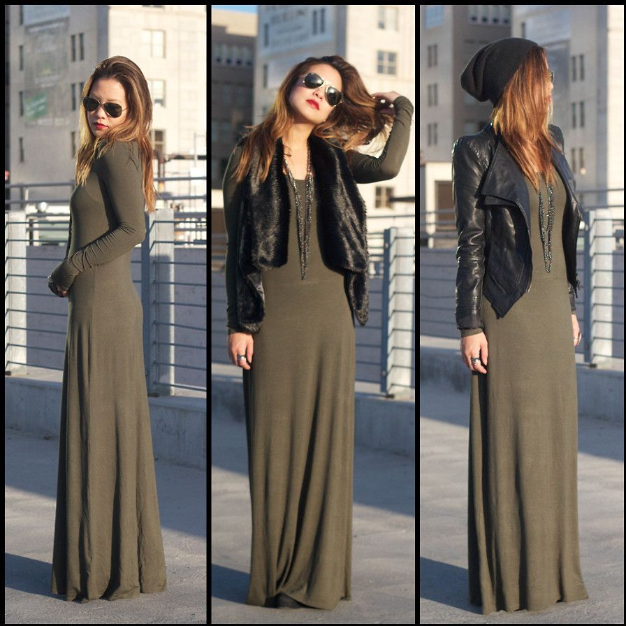 3 in 1 maxi dress jacket – Womans wallet and dresses