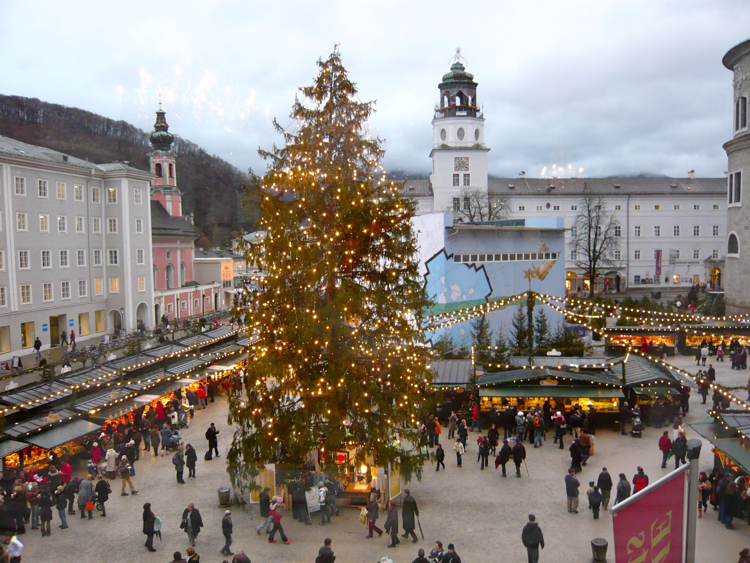 Salzburg Christmas Market.Christmas Market Salzburg Austria Places I Have Been To
