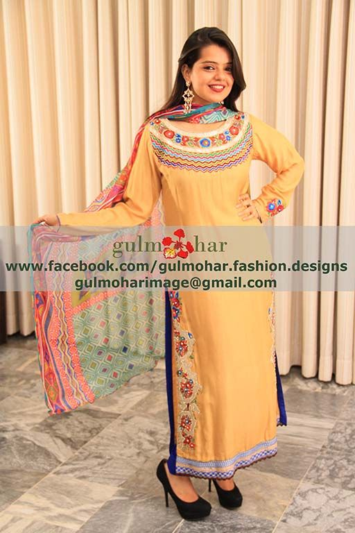 Wedding Party Pakistani Dress 2015 Price11000 Https Www Facebook Com Gulmohar Fashion Designs Unique Party Dresses Party Dress Fashion