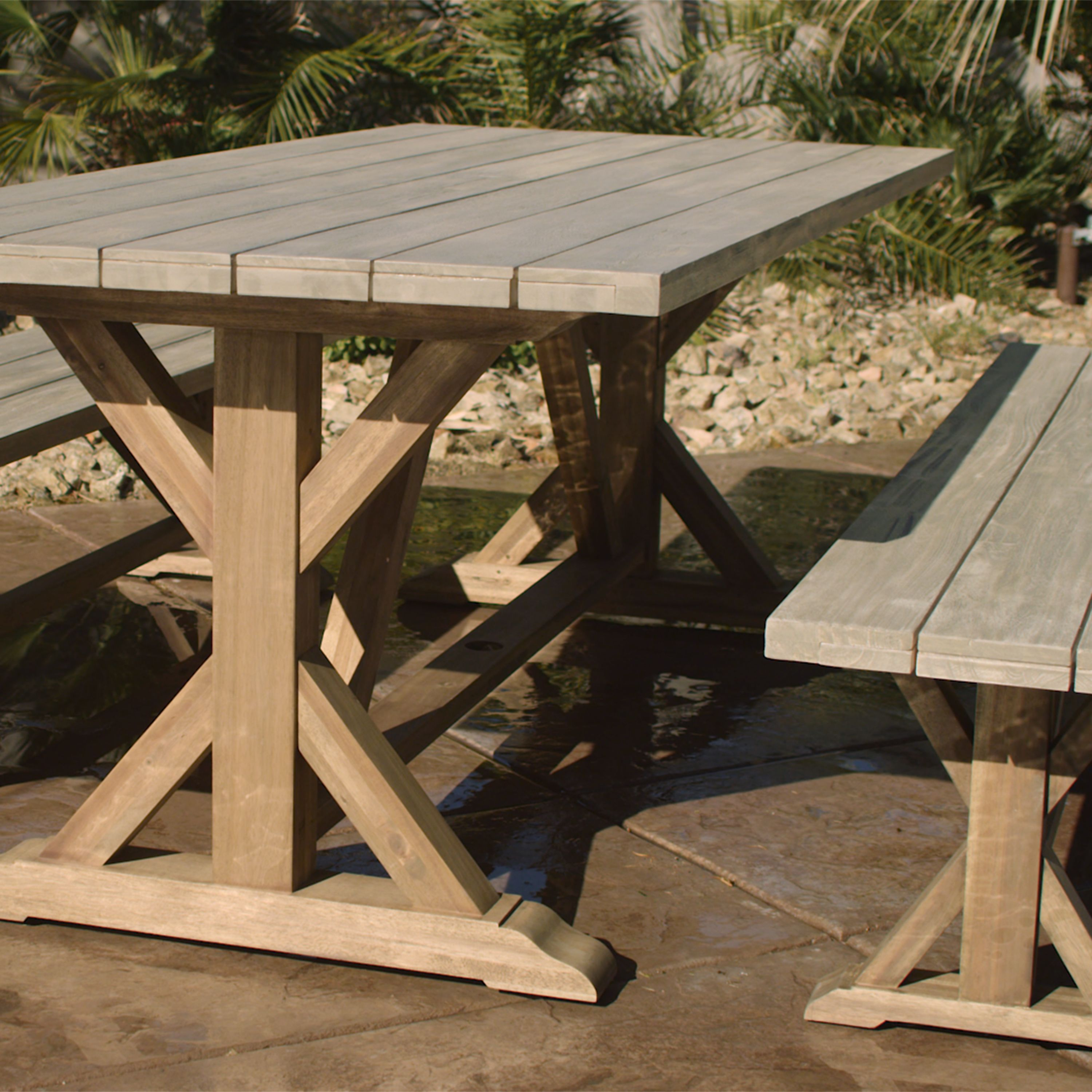Our Outdoor Dining Collection Is Fit For A Sizeable Soiree It