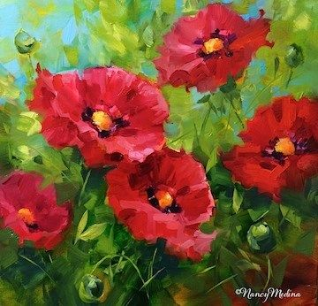 Daily paintworks a new poppy video some like it hot red poppies daily paintworks a new poppy video some like it hot red poppies mightylinksfo