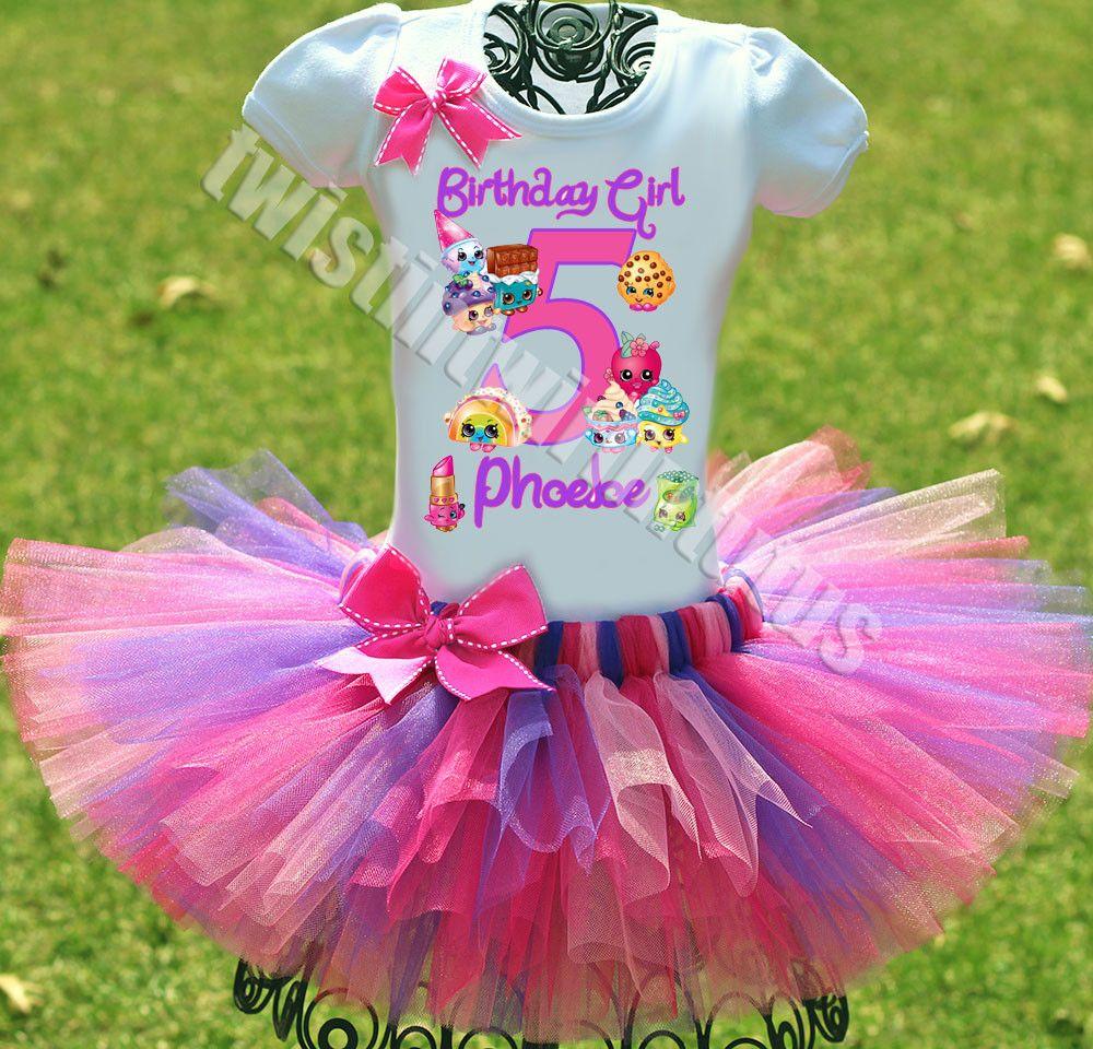 Shopkins Birthday Tutu Outfit