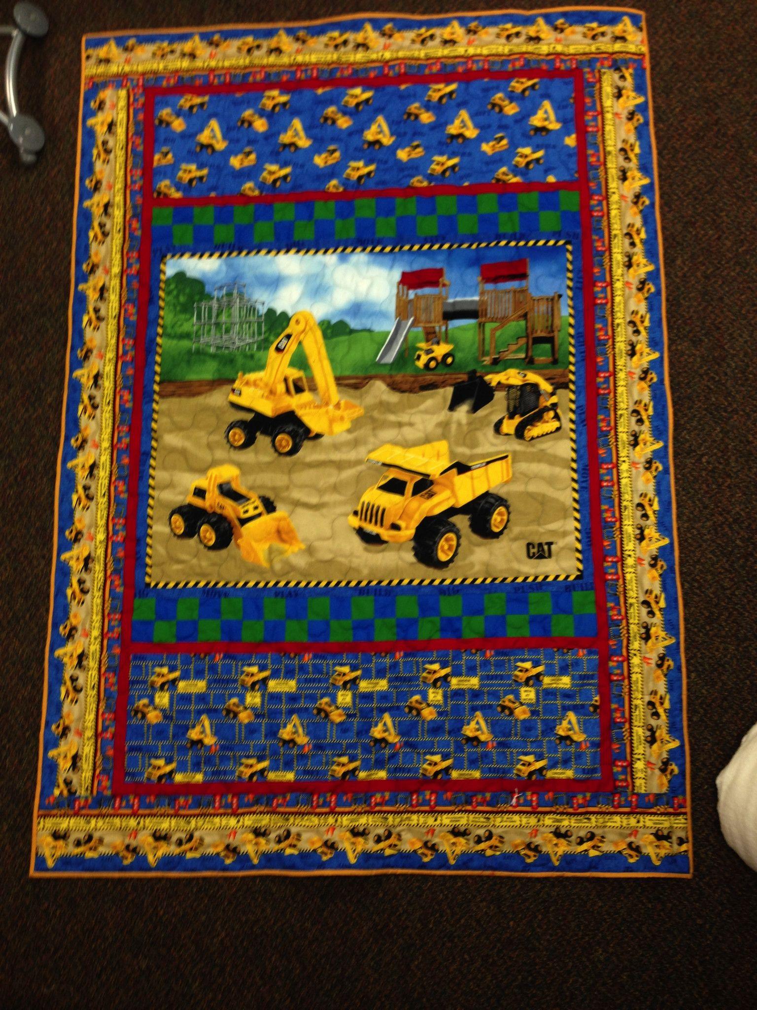 Caterpillar Nursary Toddler Bed Quilt Kit Toddler Bed