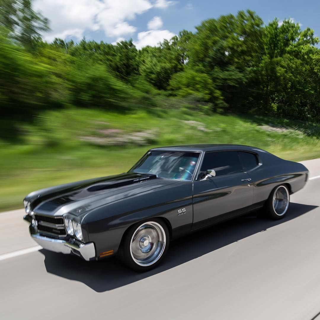 1970 Chevelle SS with a fuel-injected 496ci big block hooked to a T ...