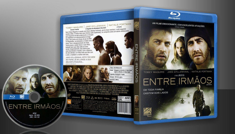 Entre Irmãos (Blu-Ray) - Capa   VITRINE - Galeria De Capas - Designer Covers Custom   Capas & Labels Customizados