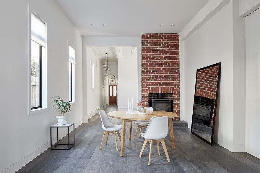 Double Storey Extension By Glow Design Group In Williamstown