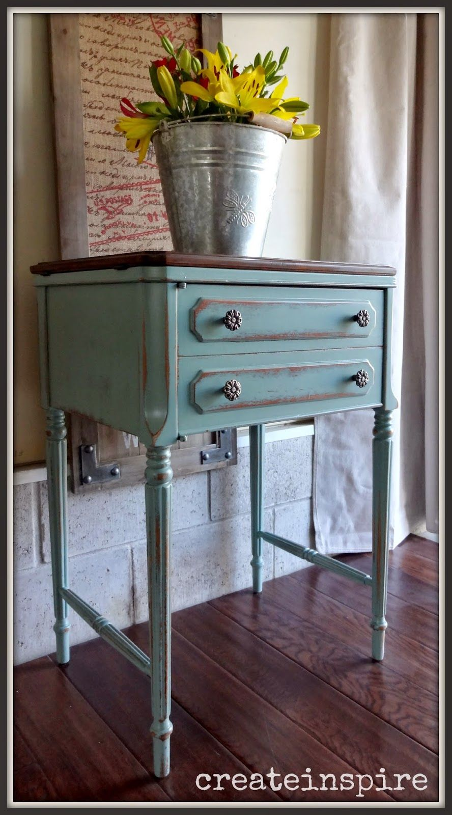 Createinspire Antique Sewing Machine V Sewing Machine