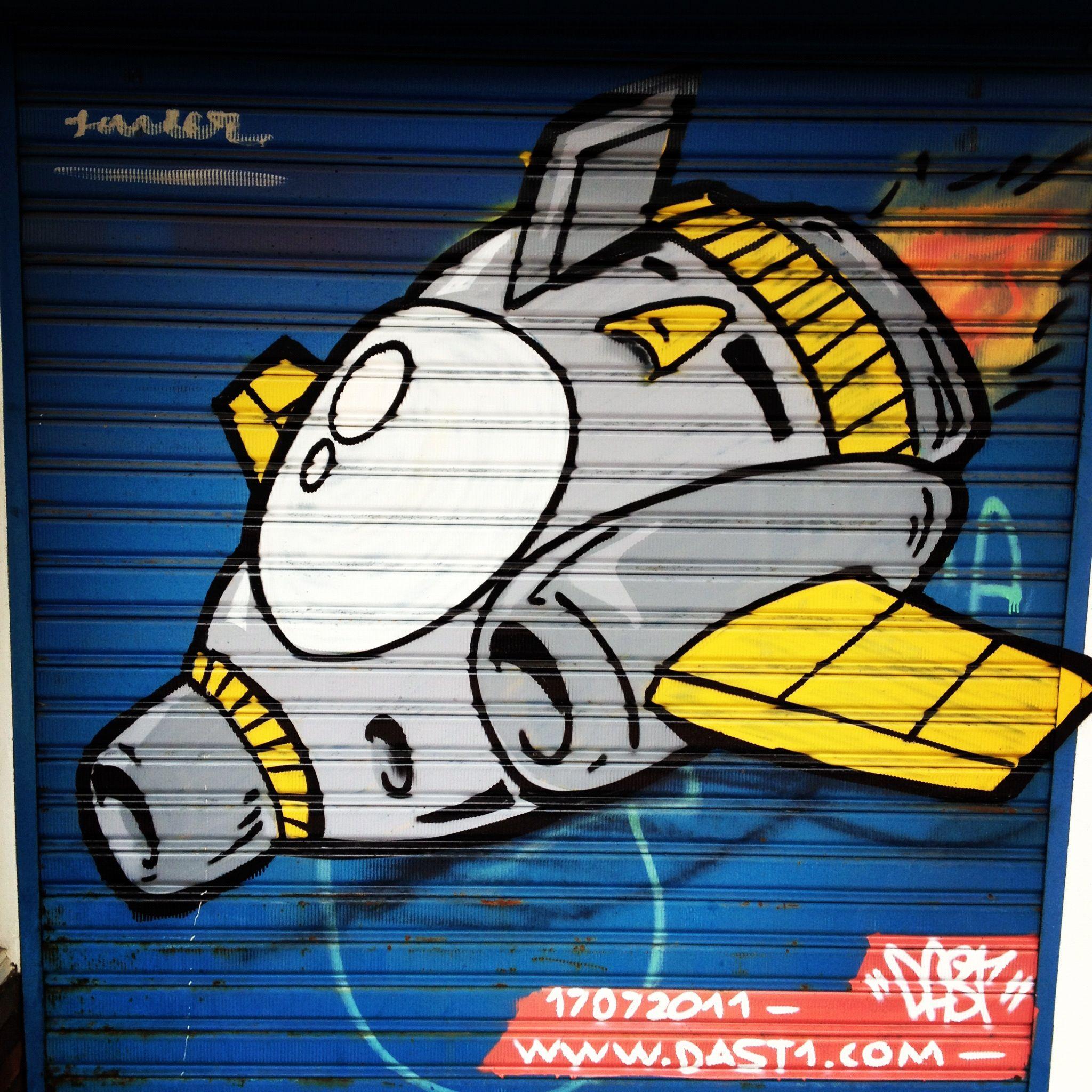 Space Shuttle Graffiti Bogota