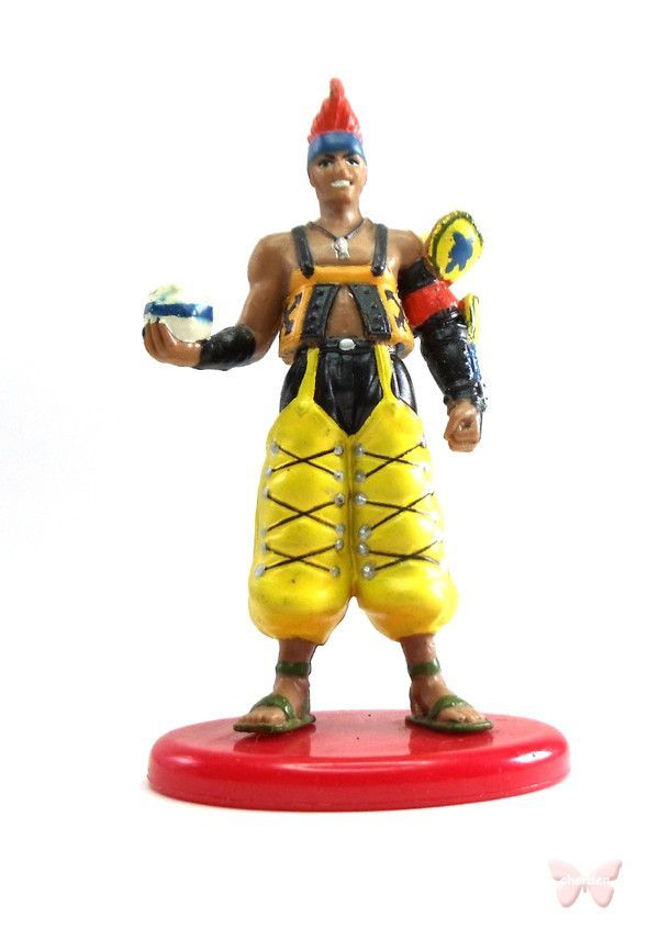 Final Fantasy 10 Figurine - Coca Cola Special Collection Volume 3 03 Wakka (Wakka)