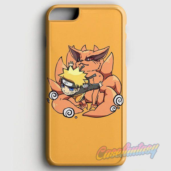 Uzumaki Naruto And Kurama The Kyuubi iPhone 6/6S Case   casefantasy