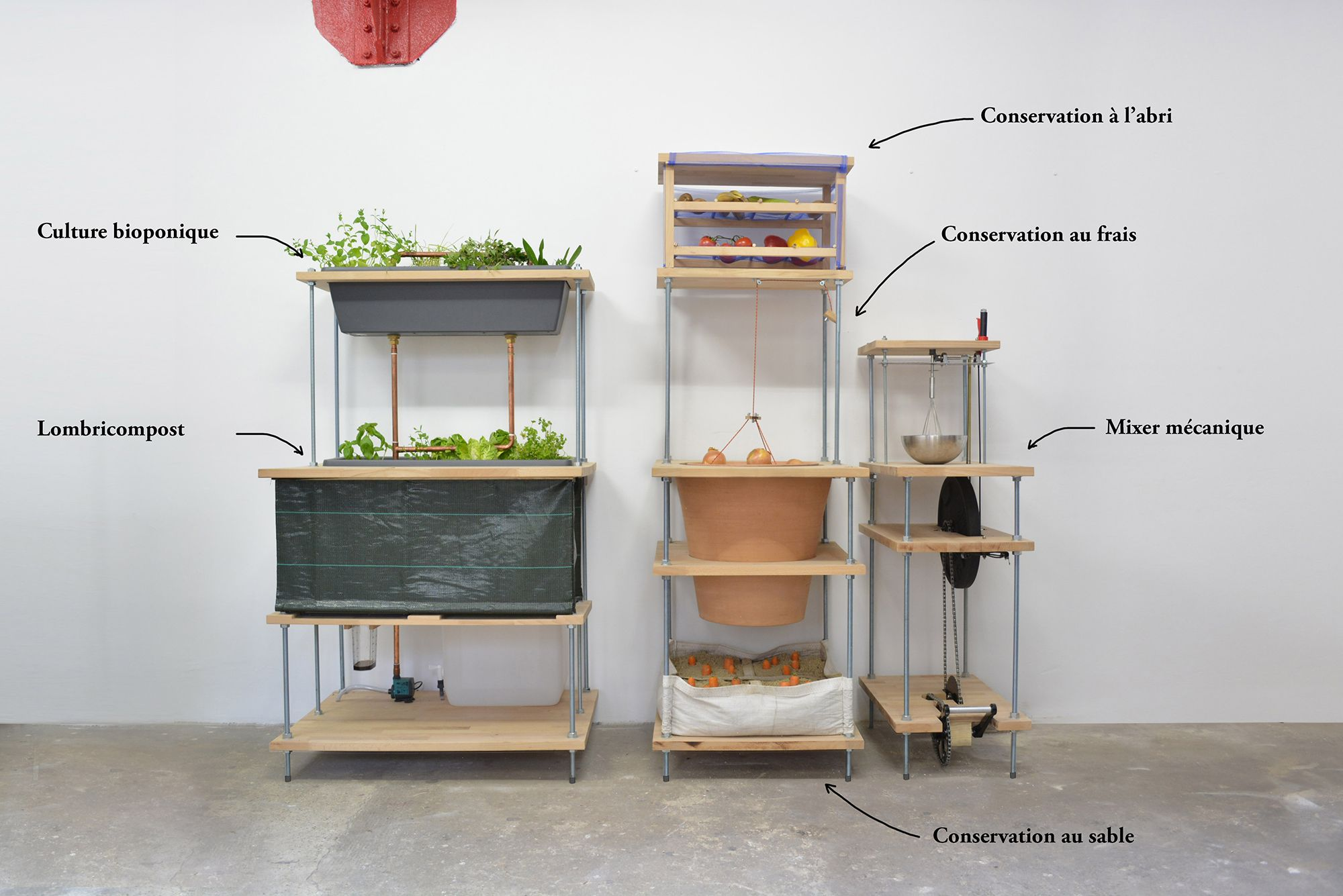 Cuisine Alternative Sans Frigo Par Audrey Bigot Idees Pour La Maison Rangement Cuisine Rangement Legumes
