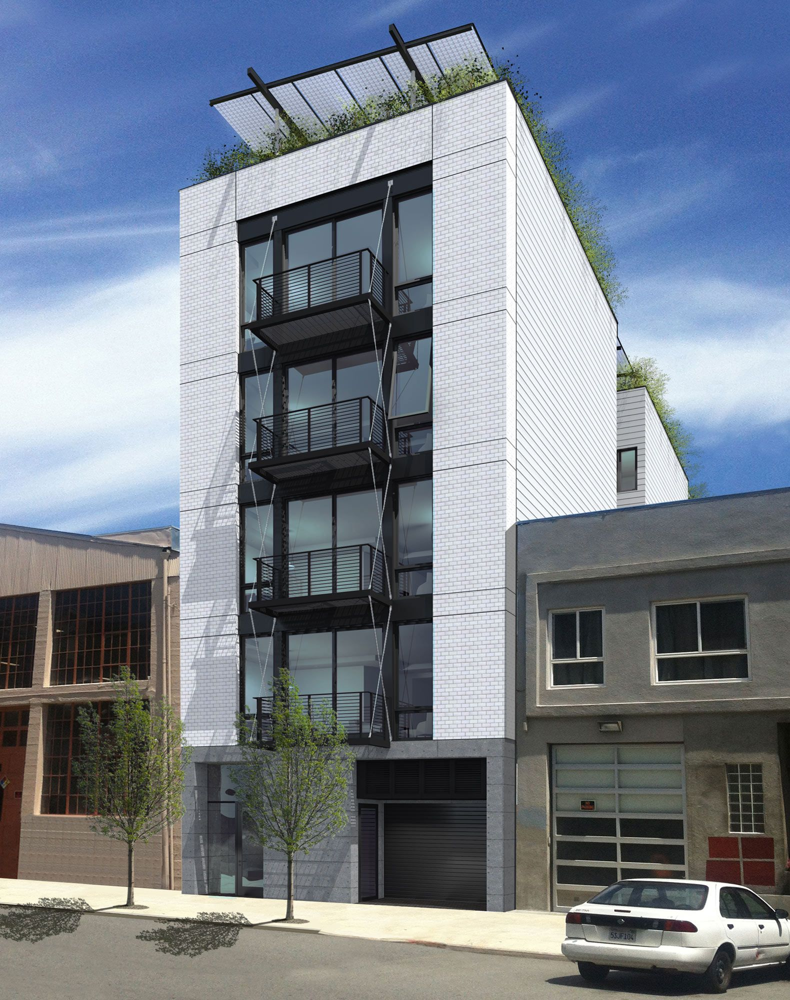 San francisco 39 s first passive house apartment complex for Apartment complex building plans