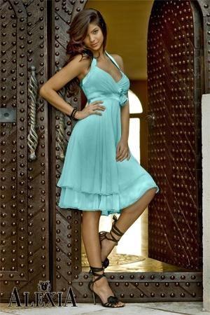 Premier Blue Braidsmaid Dress