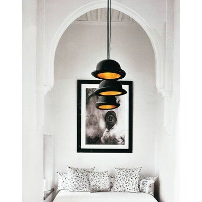 Wrought Studio Unionville 1-Light Single Cylinder Pendant | Wayfair