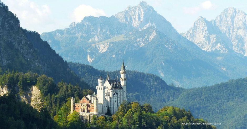 Fotomotiv Neuschwanstein Forggensee Fussen Fotopoint Europe Best Of Europe Best Of Bavaria Top Europe Naturjuwele Alpens Alpen Ausflug Neuschwanstein