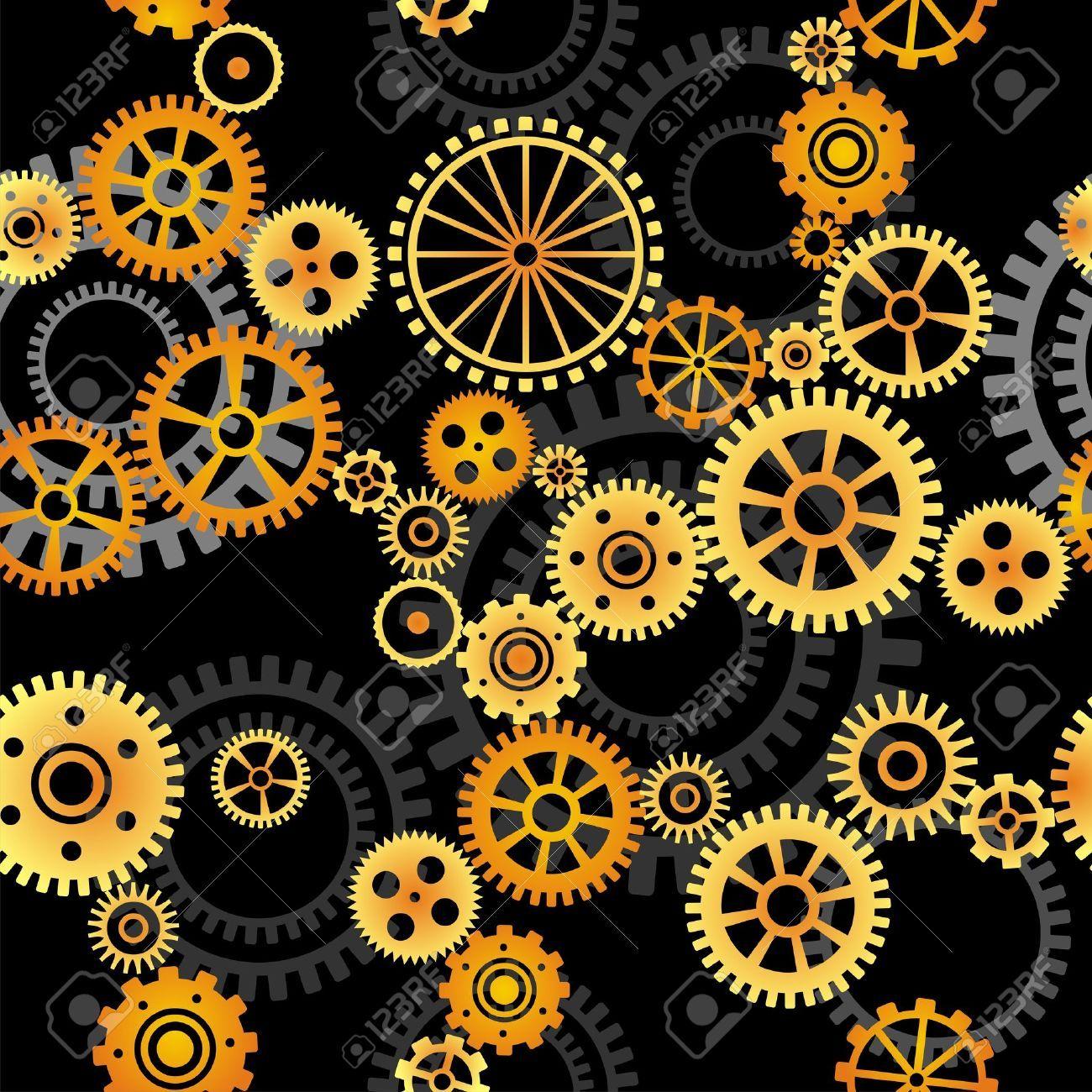 14355188-seamless-vector-pattern-gears-on-dark-background ...