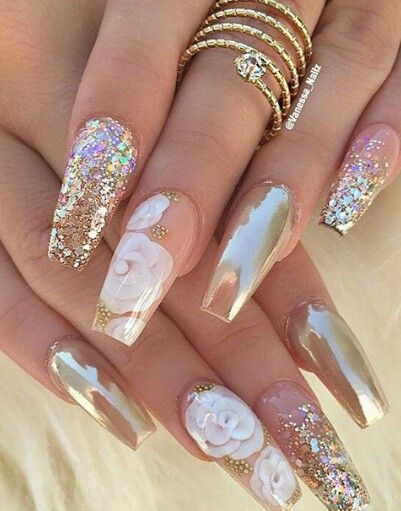 Pin By Bravewelle Madera On After Parteyyy Pinterest Unghie Arte Per And Gel