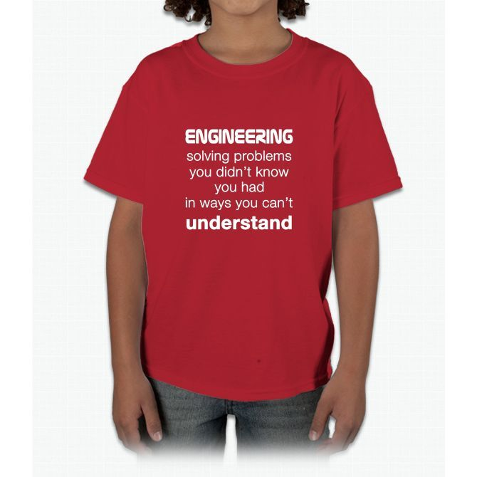 Cool Engineer / Engineering T-shirt About Solving Problems Young T-Shirt