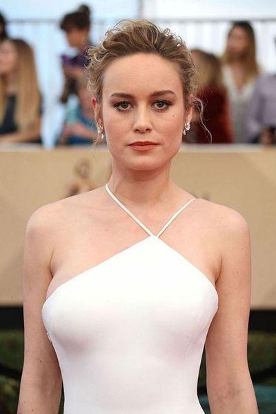 Photo of Brie Larson White Slit Dress – Best Dressed Celebrities