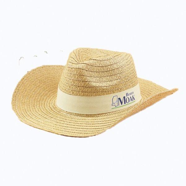 c0cf49d0c029 Cowboy Panama Hat | Cowboy Western Hats with your Logo Imprint ...