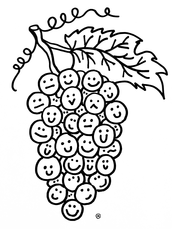 Kleurplaten Fruitmand.Kleurplaten Fruit Kleurplaten Fruit Kleurplaat Fruit Met Gezicht