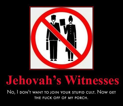 I Hate Jehovah S Witnesses Found On I1278 Photobucket