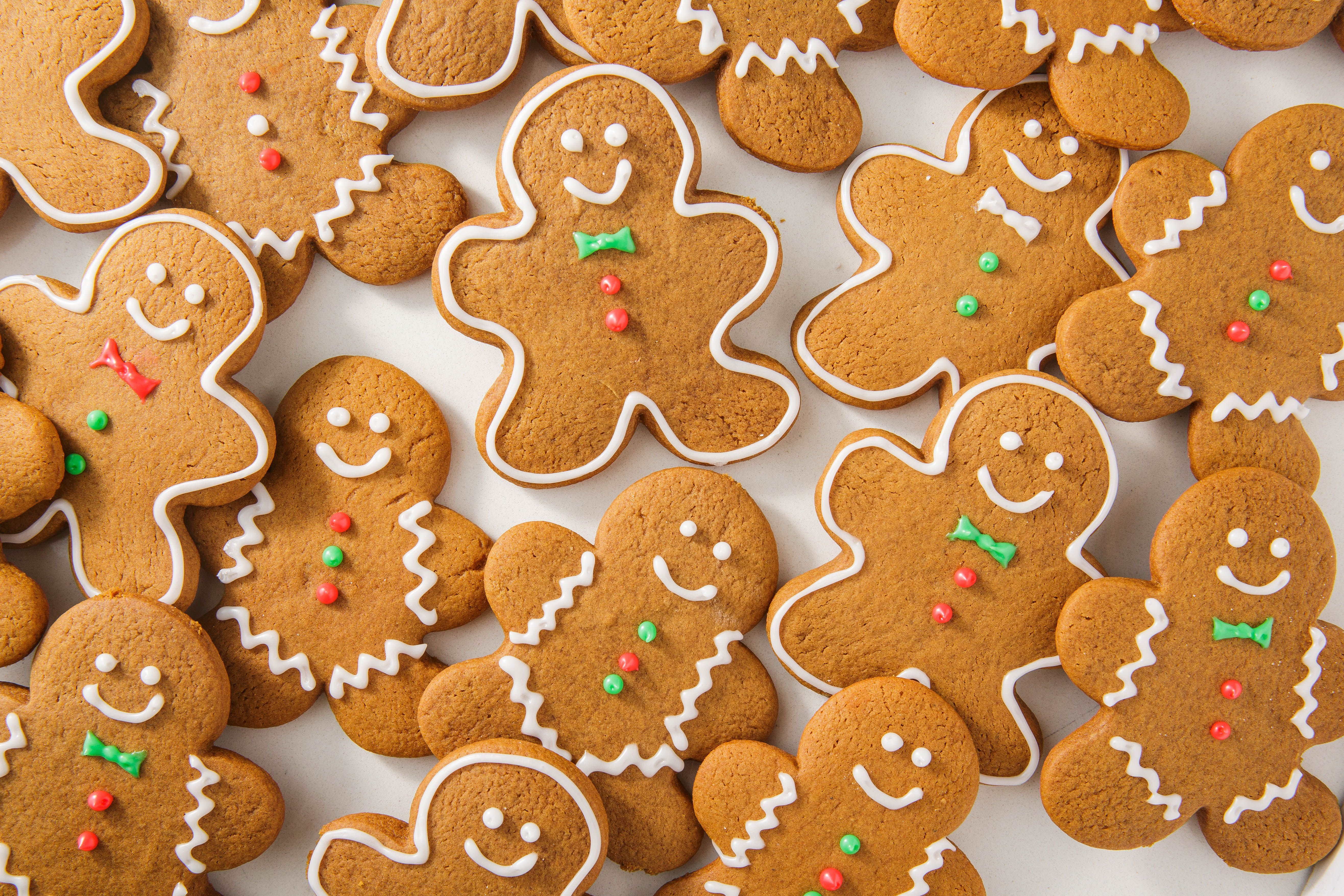 Whether or not you actually like gingerbread cookies is