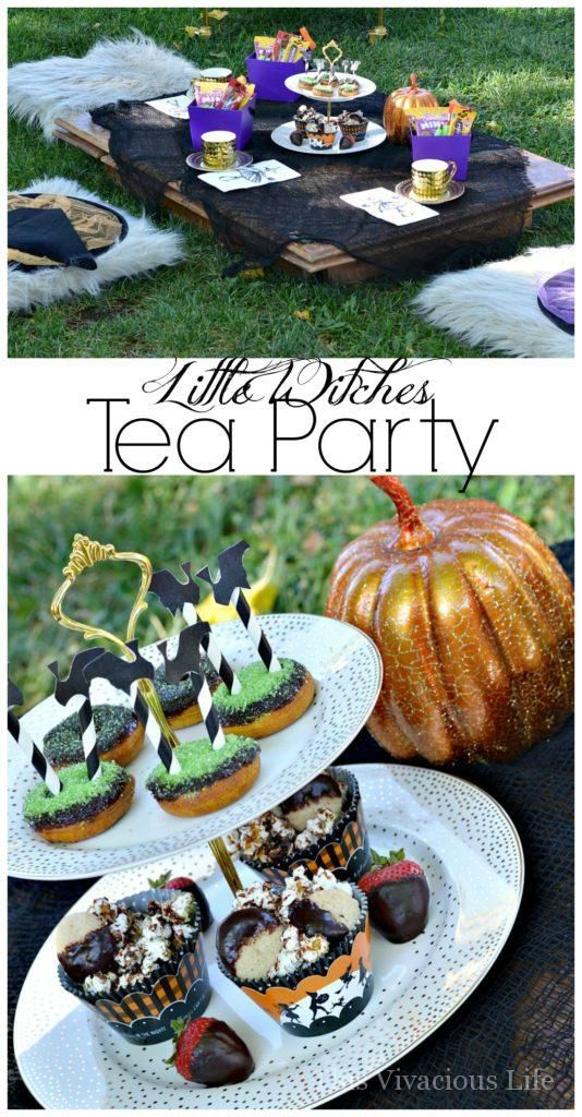 This little witches tea party couldn\u0027t be cuter! It is fun, festive - fun halloween ideas