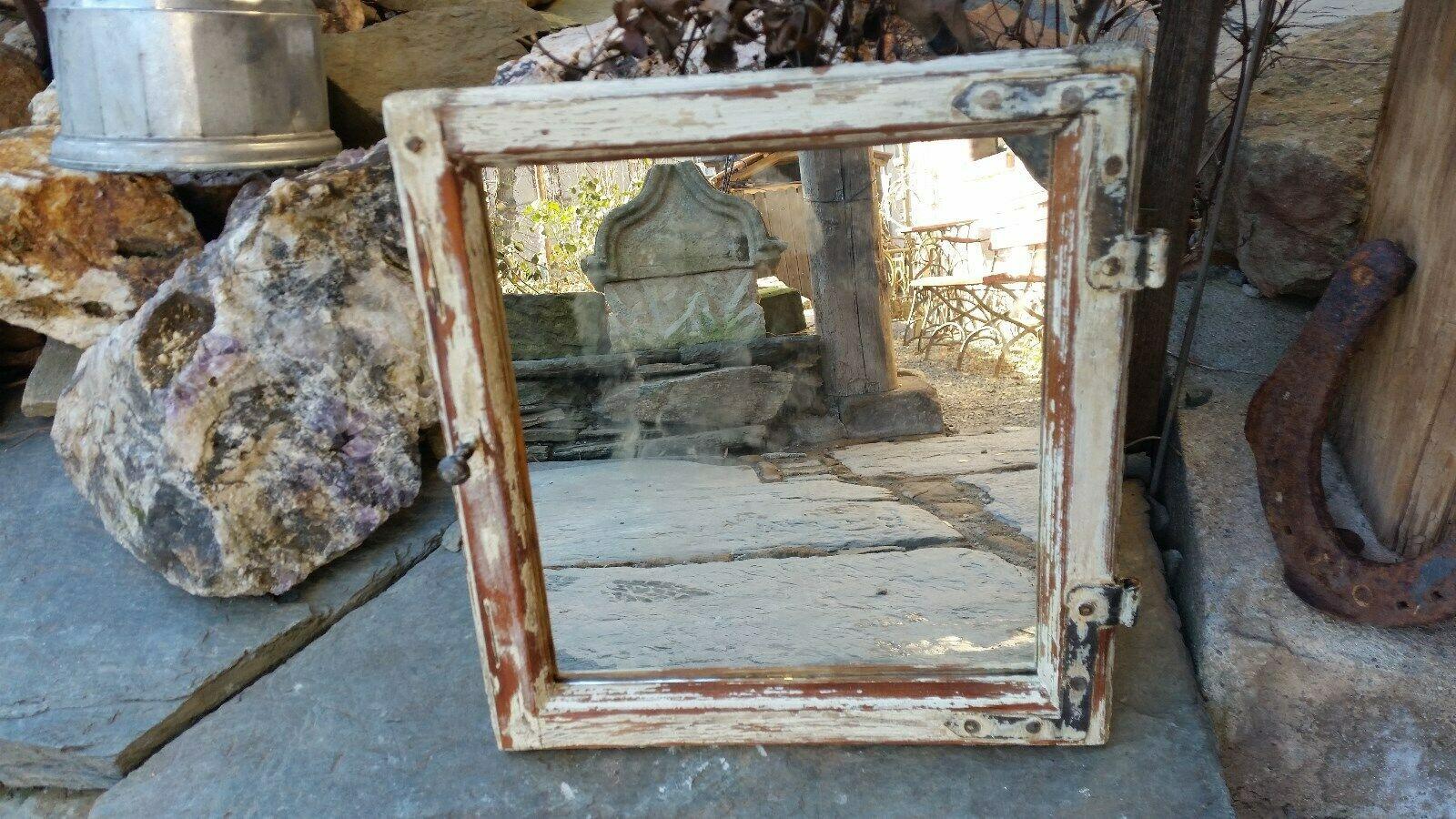 Altes Holz Fenster Spiegel Sprossenfenster Wandspiegel Holzfenster Antik Rahmen Wohnwelten Shop De Holzfenster Altholz Sprossenfenster