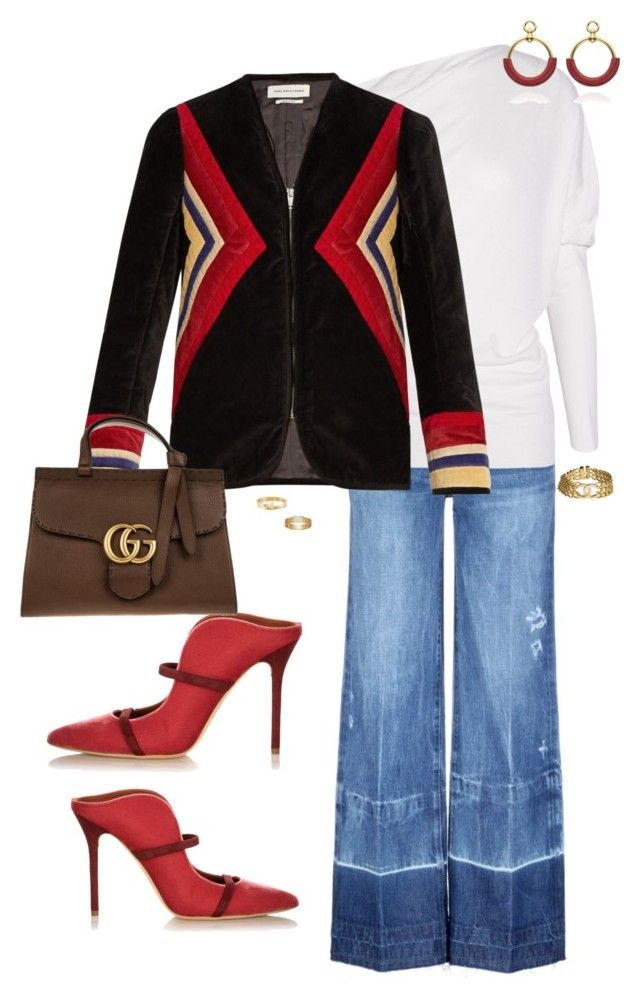 """""""Dolce"""" by ccoss ❤ liked on Polyvore featuring Tortoise, Malone Souliers, Tom Ford, Étoile Isabel Marant, Gucci, Tiffany & Co. and Chanel"""