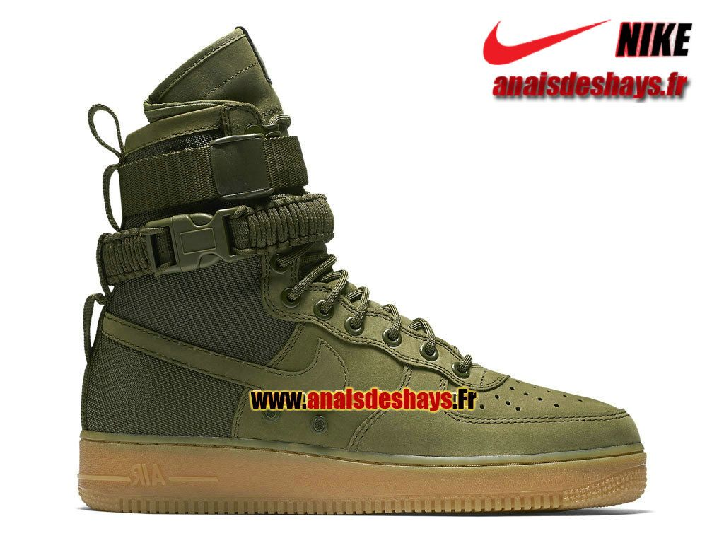 Boutique Officiel Nike Special Field (SF) Air Force 1 Homme Vert ...