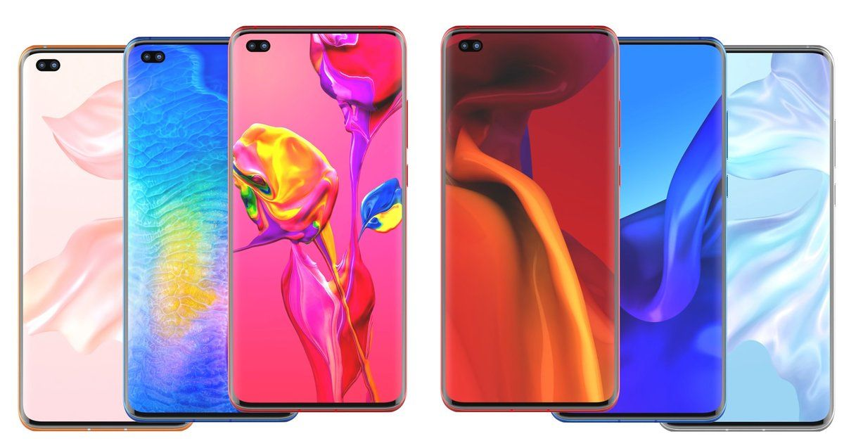 Huawei Mate 30 Pro Renderbilder Zeige Neues Top Smartphone Im Detail Huawei Huawei Mate Top Smartphones